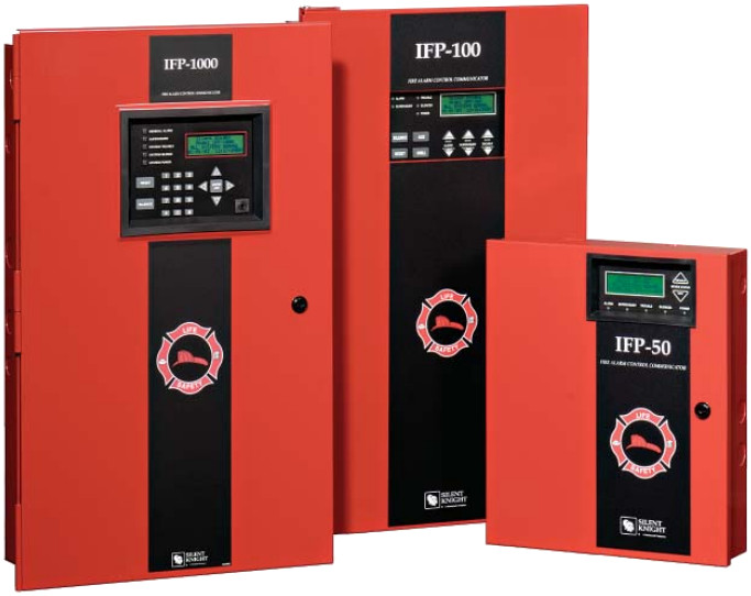 IFP-1000, IFP100, IFP-50 Fire Alarm Control Systems