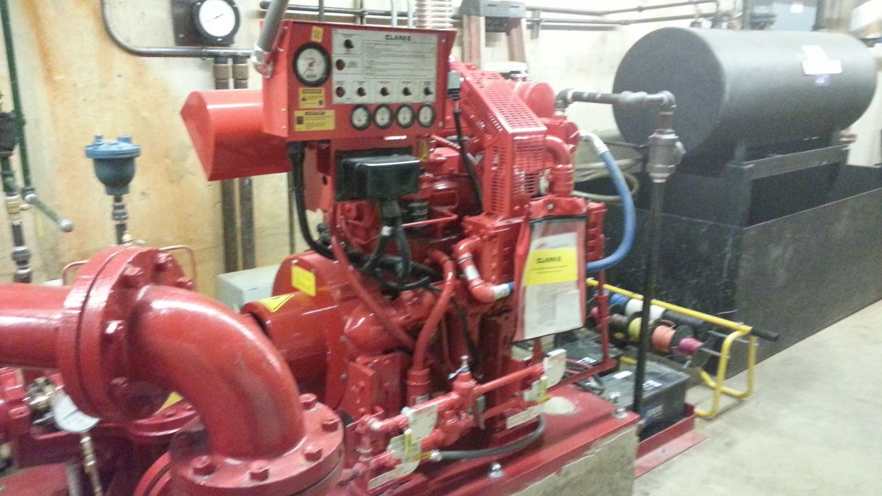 DIESEL DRIVEN PUMP REPLACEMENT